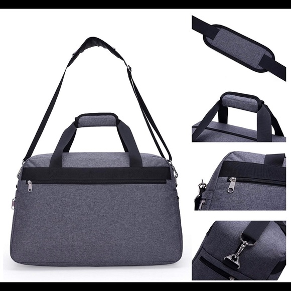 57bb438c2b Mier Weekender Travel Bag in Heather Gray. M 5b679161d8a2c7a316c0ed05